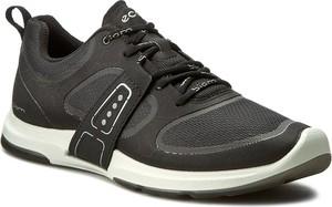 Buty sportowe Ecco w sportowym stylu z płaską podeszwą ze skóry ekologicznej