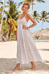 Sukienka David Beachwear w stylu casual maxi