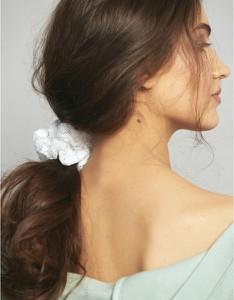 Oho Design Gumka do włosów z koronki z recyklingu