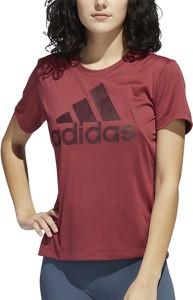 Bluzka Adidas z dzianiny w sportowym stylu