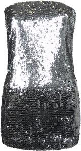 Bluzka Liu-Jo z tkaniny w stylu glamour bez rękawów