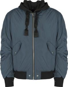 Niebieska kurtka Diesel w stylu casual