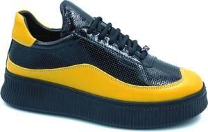 Sneakersy Lanqier sznurowane