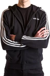 Czarna bluza Adidas z plaru w sportowym stylu