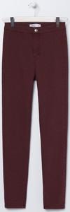 Fioletowe jeansy Sinsay