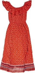 Czerwona sukienka Superdry
