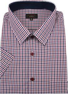 Koszula Jurel z bawełny z krótkim rękawem w stylu casual