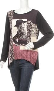 Bluzka Fiorella Rubino z długim rękawem