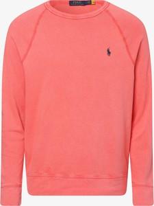 Czerwona bluza POLO RALPH LAUREN z bawełny w stylu casual