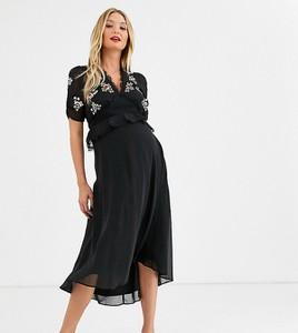 Sukienka Hope & Ivy Maternity z dekoltem w kształcie litery v