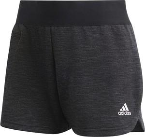 Czarne szorty Adidas z bawełny