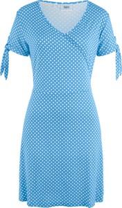 Sukienka bonprix bpc bonprix collection z krótkim rękawem