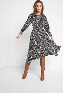 Sukienka ORSAY z długim rękawem asymetryczna