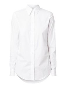 Koszula Lauren Ralph Lauren z długim rękawem z bawełny z kołnierzykiem