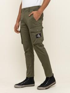 Zielone spodnie Calvin Klein