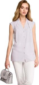 Bluzka Merg w stylu casual z krótkim rękawem
