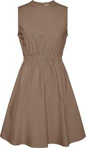 Sukienka Noisy May mini z bawełny rozkloszowana