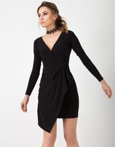 Czarna sukienka Flawdress