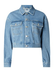 Kurtka Tommy Jeans z bawełny krótka
