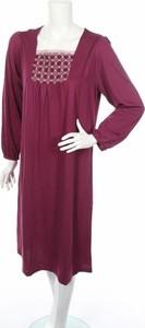 Sukienka Pure Wear z długim rękawem
