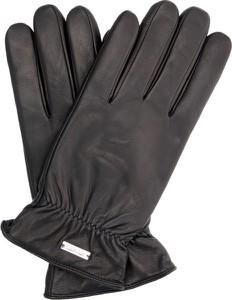 Czarne rękawiczki Calvin Klein