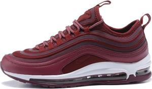 Czerwone buty sportowe Nike z tkaniny