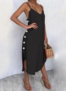 Sukienka Arilook na ramiączkach z dekoltem w kształcie litery v