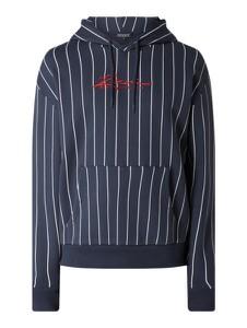 Granatowa bluza Review z bawełny