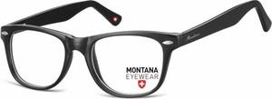 Stylion Oprawki optyczne korekcyjne Nerdy Wayfarer Montana MA61 czarne