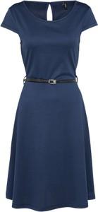Granatowa sukienka vero moda