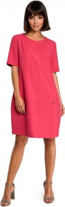Różowa sukienka Be