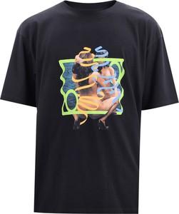 T-shirt Edwin z krótkim rękawem z bawełny w młodzieżowym stylu