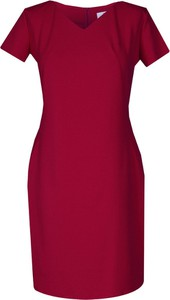 Sukienka Fokus dopasowana z bawełny w stylu casual