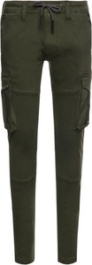 Zielone spodnie Pepe Jeans