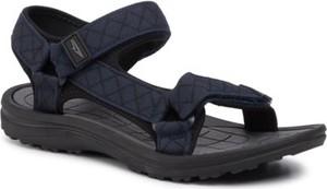 Granatowe buty dziecięce letnie Sprandi