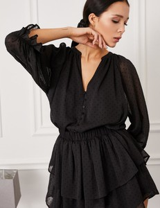 Sukienka Misha z tkaniny w stylu casual mini