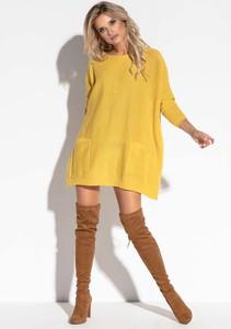 Żółta sukienka Fobya