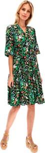 Sukienka Lavard w stylu casual mini z długim rękawem