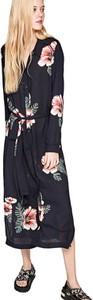 Sukienka Pepe Jeans z długim rękawem z dekoltem w kształcie litery v