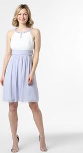 Sukienka Marie Lund rozkloszowana mini z szyfonu