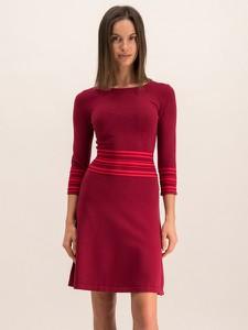 Sukienka Hugo Boss w stylu casual rozkloszowana