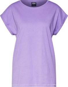 Fioletowa bluzka Urban Classics w stylu casual z dżerseju