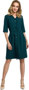 Zielona sukienka Merg midi