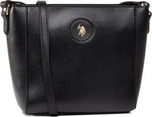 Czarna torebka U.S. Polo matowa
