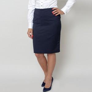 Granatowa spódnica Willsoor mini