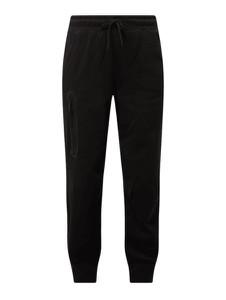 Czarne spodnie Nike z bawełny