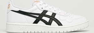 Buty sportowe ASICS ze skóry ekologicznej sznurowane z płaską podeszwą