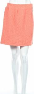 Różowa spódnica Minimum w stylu casual