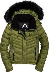 Zielona kurtka Superdry w stylu casual