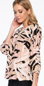 Różowa bluzka POTIS & VERSO z tkaniny